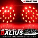 バリオス250 LEDテールランプ/バイクテール ナンバー灯付き 2灯式/丸型