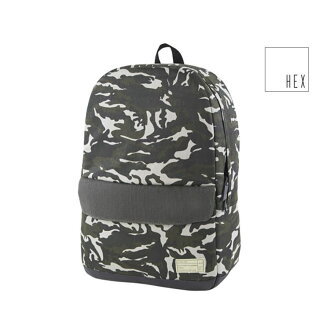 HEX[HX1840-CMOV]STINSON ECHO BACKPACK hekkusubakkupakku通勤上学帆布背包日包户外休闲街道PC收藏素色母亲包