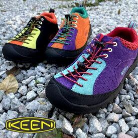 """メンズ KEEN キーン JASPER""""ROCKS""""SP クライミングシューズをモチーフにしたアウトドアシューズ 靴 KEEN キャンプ 3色 ジャスパーロックスエスピー ウォーキング レザースニーカー クッション性能 履きやすい キーン"""