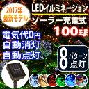 イルミネーション ソーラー パターン クリスマス