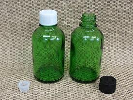 遮光瓶 Tグリーン 60ml キャップ付