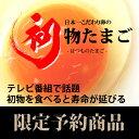 縁起物「初物たまご」日本一こだわり卵30個入(送料込)