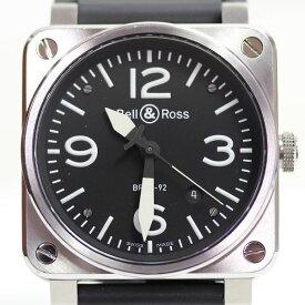 【MT1684】【中古】【美品】★ベル&ロス Bell&Ross BR03-92-S メンズ 自動巻き 腕時計【質屋出店】【あす楽】