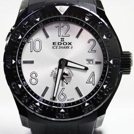 【MT1727】★エドックス EDOX Iceshark Limited Edition アイスシャーク2 クラス1 自動巻き 腕時計 メンズ96001-37NB-AIN 限定300本★ 【中古】【質屋出品】【あす楽】