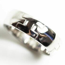 【MR2181】【中古】エルメス HERMES K18WG/750 リング 指輪 サイズ8号 刻印サイズ48/アクセサリー ヘラクレス【質屋出品】【あす楽】