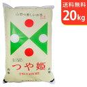 【送料無料】令和元年産 新米 山形県産つや姫 20kg 庄内産 特別栽培米【smtb-TD】【saitama】