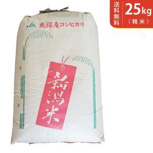 【送料無料】令和2年産 新米 魚沼産コシヒカリ 25kg 十日町地区 最高級 ギフトにおすすめ♪【smtb-TD】【saitama】