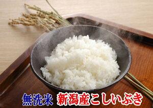無洗米 <1年度産> 【送料無料】 無洗米新潟県産こしいぶき10kg(5kg×2)