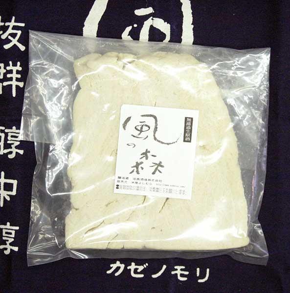 【ネコポス対応】「風の森」純米酒粕  バラ粕 500g入り