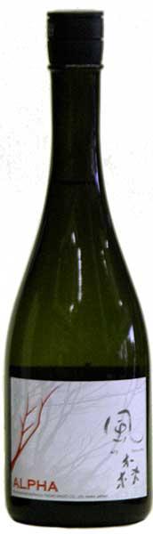 """【奈良の地酒】""""ALPHA アルファ""""風の森Type1タイプ1 720ML油長酒造(奈良県御所市)"""