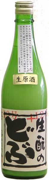 生もとのどぶ純米にごり生原酒【大和の地酒】H29BY酒720mL久保本家(奈良県宇陀市)
