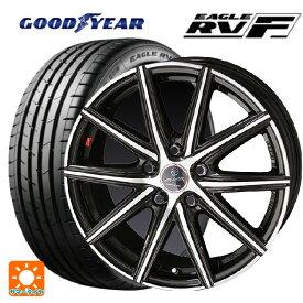 2019年製 245/45R18 100W XL グッドイヤー イーグル RV-Fスマック ヴァニッシュ ブラウンドブラックメタリックポリッシュ 18-7.5J新品サマータイヤホイール4本セット