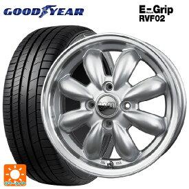 185/55R16 83V グッドイヤー エフィシェントグリップ RVF02ララパーム カップ S/リムP 16-6J新品サマータイヤホイール4本セット