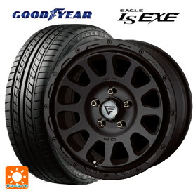 215/55R17 94V グッドイヤー イーグル LS EXEデルタフォース オーバル マットブラック 17-7J新品サマータイヤホイール4本セット