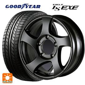 215/65R16 98H グッドイヤー イーグル LS EXECST ゼロワンハイパーJL FBK 16-5.5J新品サマータイヤホイール4本セット