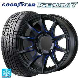 215/65R16 98Q グッドイヤー アイスナビ7CST ゼロワンハイパー XJ FBLM 16-6J新品スタッドレスタイヤホイール4本セット