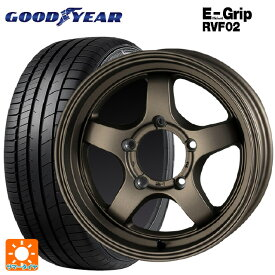 215/65R16 98H グッドイヤー エフィシェントグリップ RVF02CST ゼロワンハイパー S BR 16-5.5J新品サマータイヤホイール4本セット