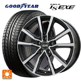 245/45R18 100W XL グッドイヤー イーグル LS EXEエルベ Vスポーク パールブラックポリッシュ 18-7.5J国産車用 サマータイヤホイール4本セット 取付店直送可
