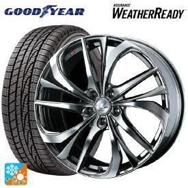 245/45R18 100V XL グッドイヤー アシュアランス ウェザーレディレオニス TE BMCMC 18-8J新品オールシーズンタイヤホイール4本セット