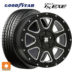 215/65R16 98H グッドイヤー イーグル LS EXEエムエルジェイ エクストリームJ Gloss Black Milled 16-7J国産車用 サマータイヤホイール4本セット 取付店直送可
