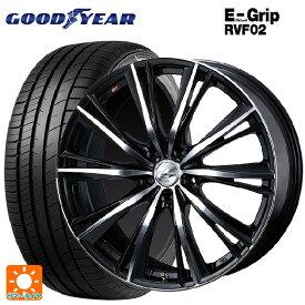 245/40R20 99W XL グッドイヤー エフィシェントグリップ RVF02レオニス WX BKMC 20-8.5J新品サマータイヤホイール4本セット