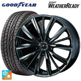 215/55R17 94V グッドイヤー アシュアランス ウェザーレディレオニス VX BMC1 17-7J新品オールシーズンタイヤホイール4本セット