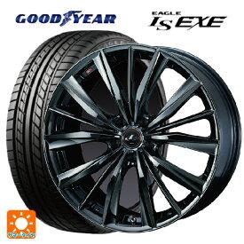 245/45R18 100W XL グッドイヤー イーグル LS EXEレオニス VX BMC1 18-8J新品サマータイヤホイール4本セット