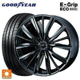 215/50R17 91V グッドイヤー エフィシェントグリップ エコ EG02レオニス VX BMC1 17-7J新品サマータイヤホイール4本セット