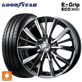 215/45R17 91W XL グッドイヤー エフィシェントグリップ エコ EG02レオニス VX BMCMC 17-7J新品サマータイヤホイール4本セット