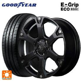 215/45R17 91W XL グッドイヤー エフィシェントグリップ エコ EG02ナイトロパワー ウォーヘッドS セミグロスブラック/アンダーカットポリッシュ 17-7J新品サマータイヤホイール4本セット