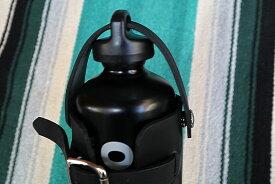 限定販売 ガソリン黒のオプテマス缶付き ガソリンタンクホルダー1.0L 予備携行缶