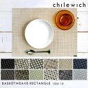 チルウィッチ chilewich ランチョンマット バスケットウィーブ レクタングル BASKETWEAVE RECTANGLE プレースマット …