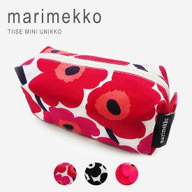 マリメッコ ウニッコ ポーチ メイクポーチ marimekko Tiise Taimi Mini Unikko 2 042446 046655 【 047196 】母の日 ギフト プレゼント 女性 オシャレ 【メール便送料無料】
