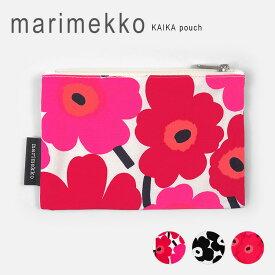 マリメッコ ポーチ ウニッコ柄 marimekko KAIKA MINI UNIKKO KEIJULI 【047198】【メール便送料無料】