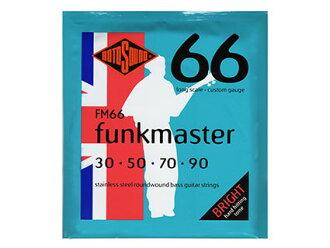 电子吉他基础弦ROTOSOUND FM 66[!]