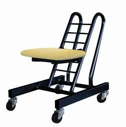 ムーブスマート[ルネセイコウ]座面突板仕様PMS-20ナチュラル/ブラック送料無料