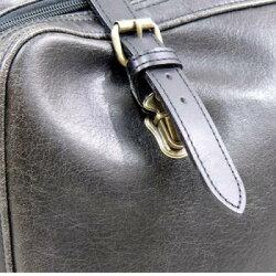 レトロオープンポケットダレスボストンバッグ1484-01ブラック送料無料