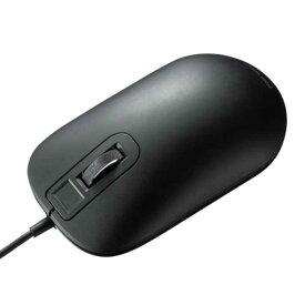 【送料無料】 指紋認証マウス(ブラック) ≪サンワサプライ≫ MA-IRFP139BK