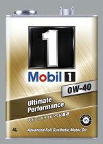 Mobil1 モービル1 エンジンオイル 高性能スポーツ車 GT-R BMW ポルシェ SN 0W-40 4L 単品
