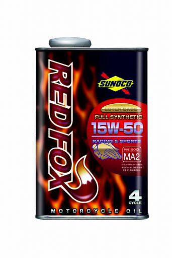 SUNOCO REDFOX RACING & SPORT 4サイクル オイル 【15W-50 20L×1缶】 スノコ 2輪 バイク レッドフォックス レーシング アンド スポーツ 100%化学合成 レーシングスペック エンジンオイル 15W50