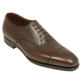 【Crockett and Jones】Audley ワイズE クロケット&ジョーンズ オードリー ダークブラウンイギリス製 革靴 UKサイズ5〜13(日本サイズ23.5cm〜31.5cm)