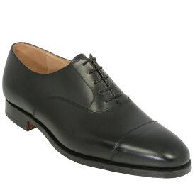 【Crockett and Jones】CONNAUGHT ワイズE/F クロケット&ジョーンズ 「コノート」オックスフォードシューズ ブラック 黒イギリス製 革靴 UKサイズ5〜13(日本サイズ23.5cm〜31.5cm)