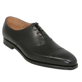 【Crockett and Jones】HALLAM ワイズE クロケット&ジョーンズ 「ハラム」オックスフォードシューズ ブラック 黒イギリス製 革靴 UKサイズ5〜13(日本サイズ23.5〜31.5cm)ワイズE