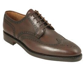 【Crockett and Jones】Swansea ワイズE クロケット&ジョーンズ ダービーシューズ「スワンシー」ダークブラウンイギリス製 革靴 UKサイズ5〜13(日本サイズ23.5cm〜31.5cm)ダイナイトラバーソール
