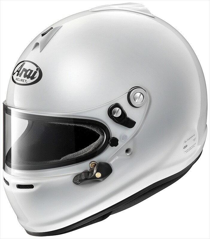 【Arai】GP-6S Lサイズ スネルSA/FIA8859 4輪 レース 白 アライ ヘルメット