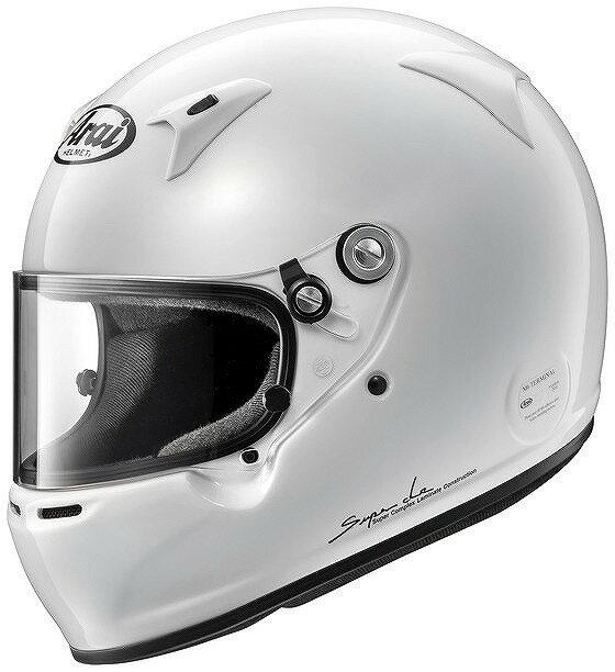 【Arai】GP-5W Mサイズ スネルSA/FIA8859 4輪 レース 白 アライ ヘルメット