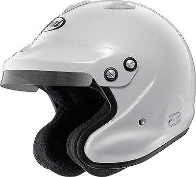 【Arai】GP-J3  Mサイズ SA/FIA8859 4輪 ラリー 白 アライ ヘルメット