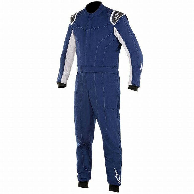 【Alpinestars】アルパインスターズ デルタ DELTA SUIT レーシング スーツ ネイビーブルー/シルバー FIA 8856-2000公認 【NEW】