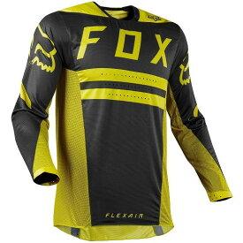 ☆【Fox】クロージングFlexair PREESTモトクロスジャージー - ダークイエロー M