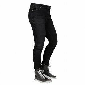 【お買い物マラソン開催中 ☆ 期間中はポイント2倍です!注文は今がチャンス!】Bull-it Jeans レディースタクティカルSP75 AA ストレートバイクジーンズ Stone / Black